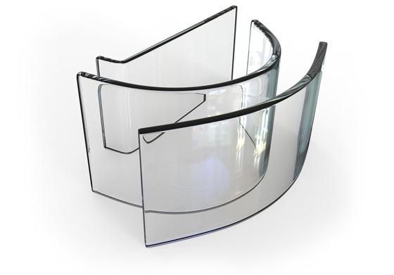 Stiklo Lenkimas