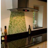 Virtuvinės stiklo sienelės Nr. 3