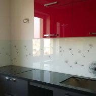 Virtuvinės stiklo sienelės Nr. 5