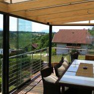Terasos, balkonai, žiemos sodai Nr. 8